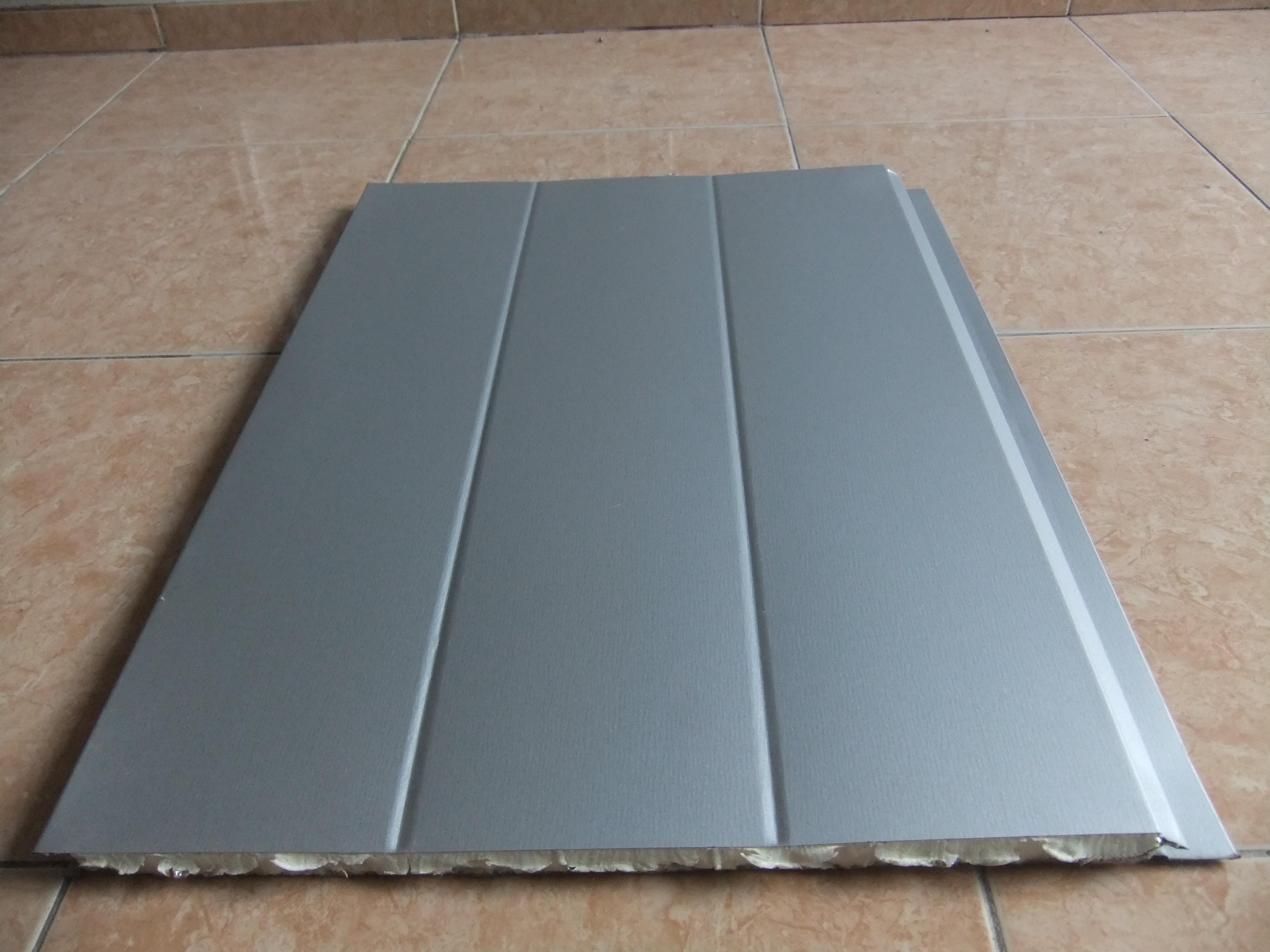 Panel Visaco màu ghi sáng